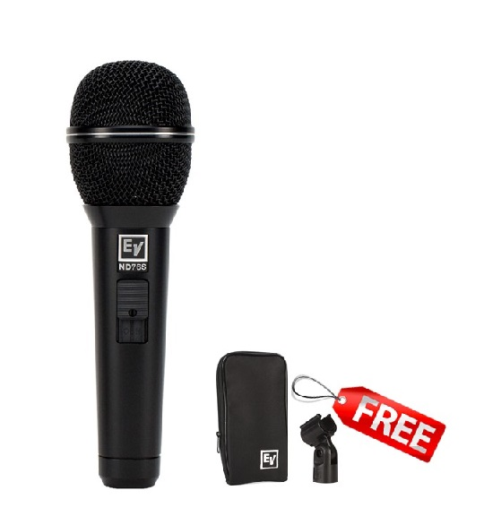 ND76S WIRED MICROPHONE